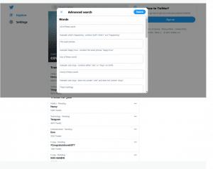 Suche Twitter