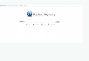 Suchmaschine BlogSearch Engine