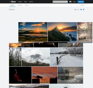 Flickr Suchmaschine