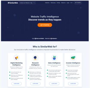 Similarweb Suche